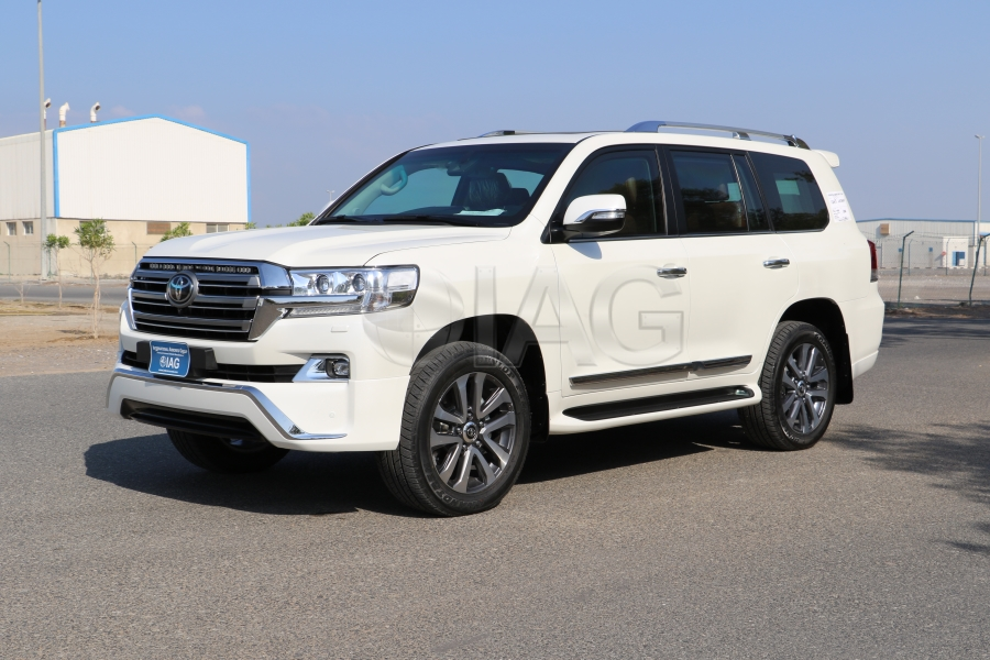 International Armored Group Toyota Land Cruiser 200