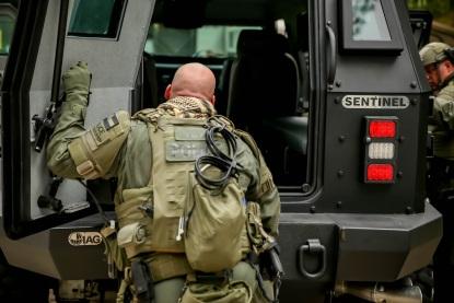 Sentinel XL Tactical Response Vehicle