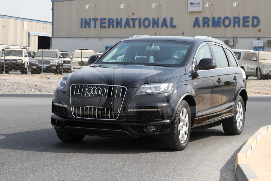 International Armored Group Audi Q - Audi sub