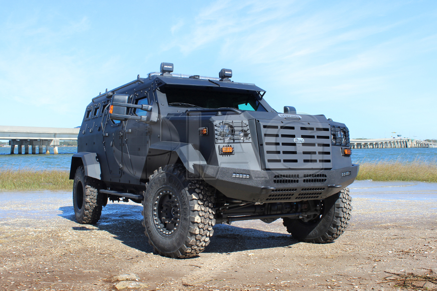 International Armored Group - Sentinel Tactical Response Vehicle (TRV)
