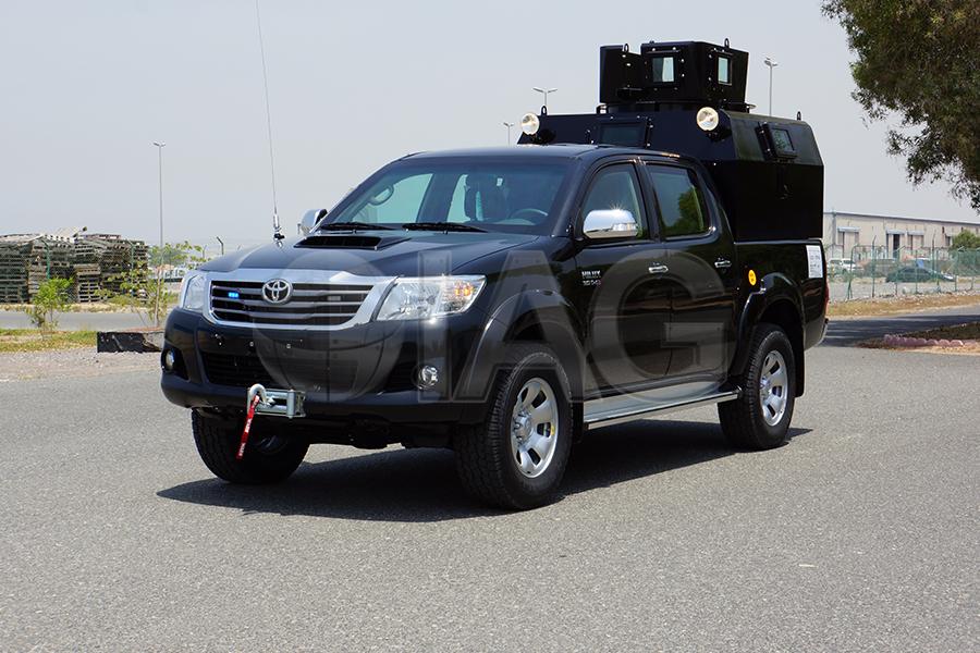 International Armored Group Toyota Hilux Patrol Truck