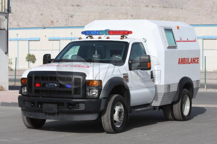 Ford F 350 Ambulance. Prev