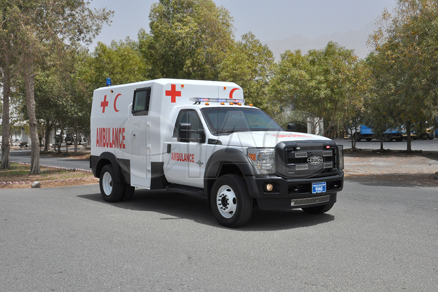 International Armored Group Ford F 550 Ambulance