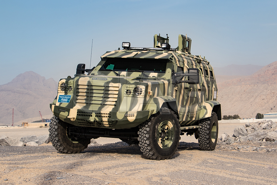 International Armored Group Guardian Armored Personnel