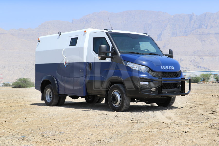 International Armored Group Iveco Daily Cit