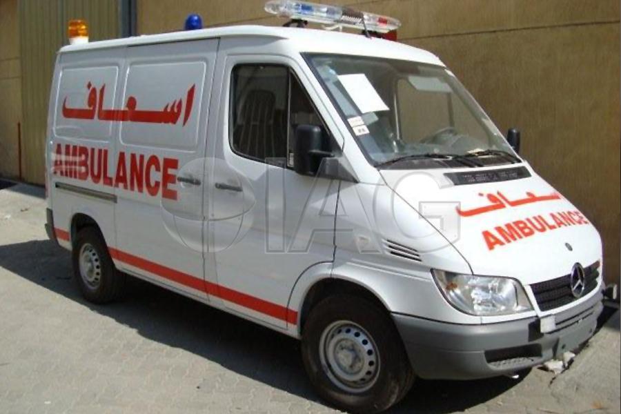 International armored group mercedes benz sprinter ambulance for Mercedes benz sprinter usa