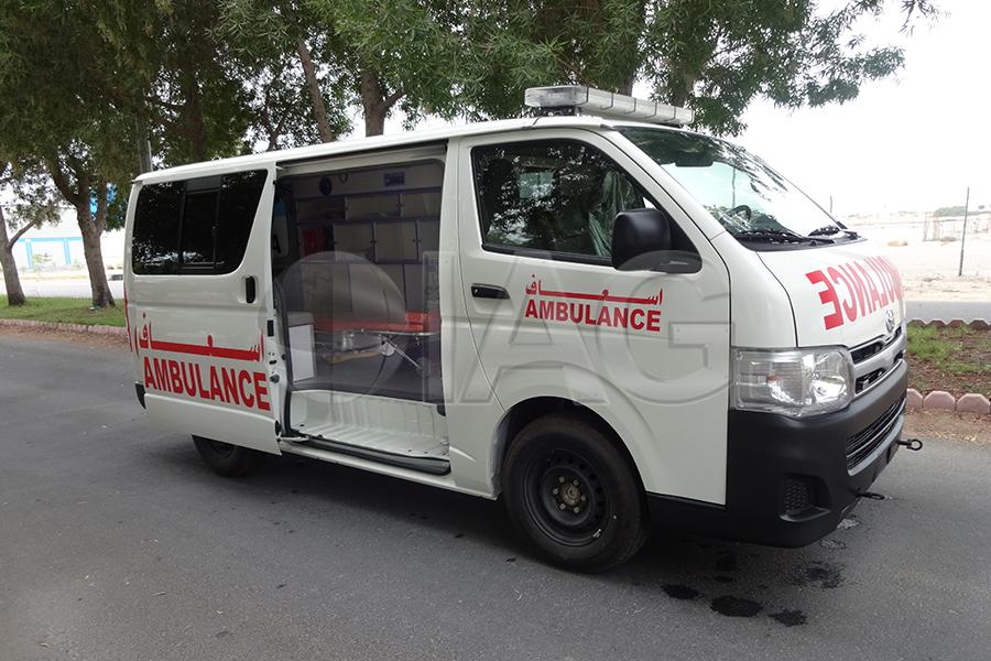International Armored Group Toyota Hiace Ambulance