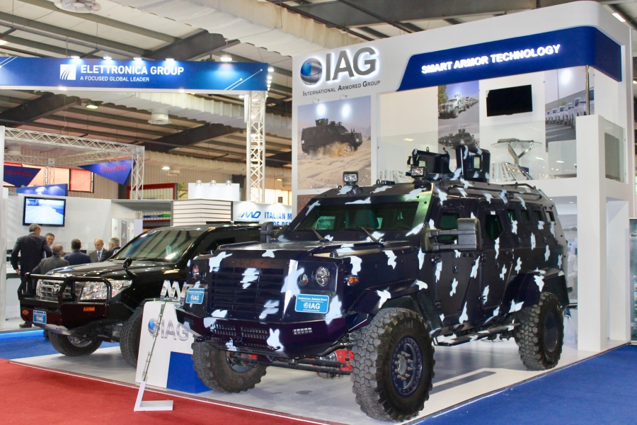 International Armored Group   IDEAS Pakistan 2018