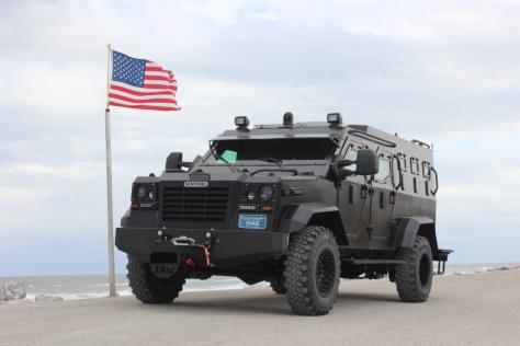 Law Enforcement Tactical Vehicles
