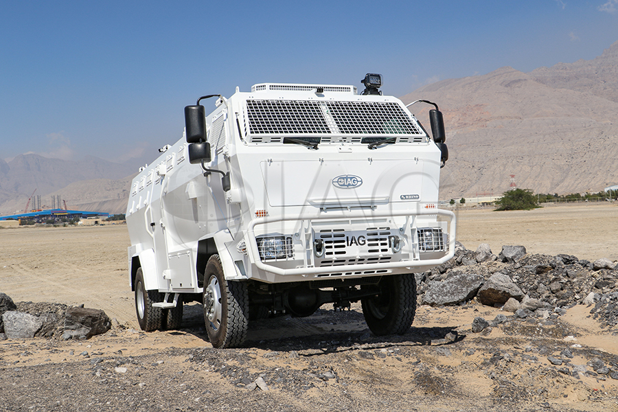 rhino crowd control vehicle
