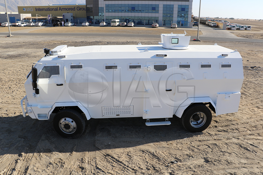 rhino crowd control and troop carrier