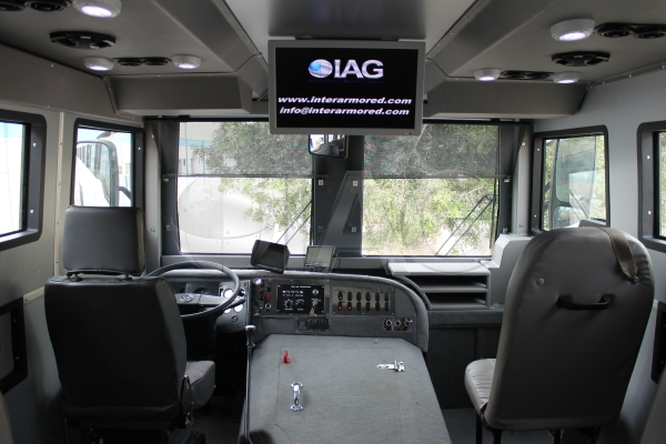 F550 Towing Capacity >> International Armored Group - Armored Buses and Vans