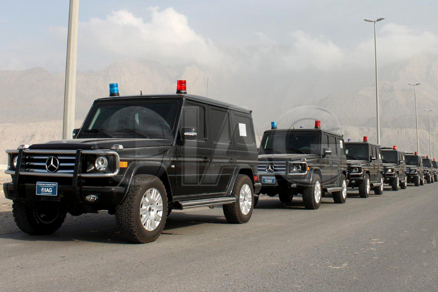 International Armored Group - Mercedes Benz G Wagon