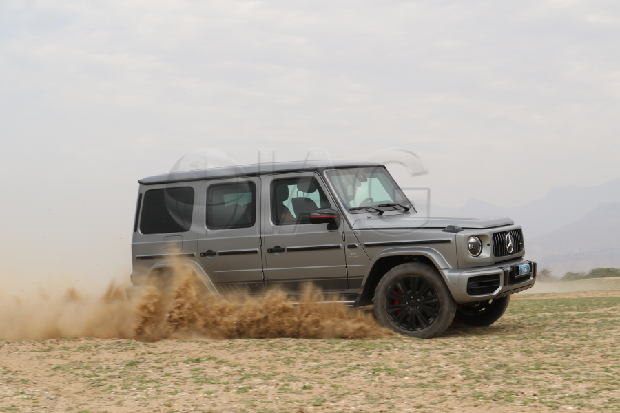 MB G63 AMG SUV action