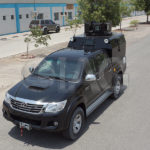 toyota hilux tactical patrol truck