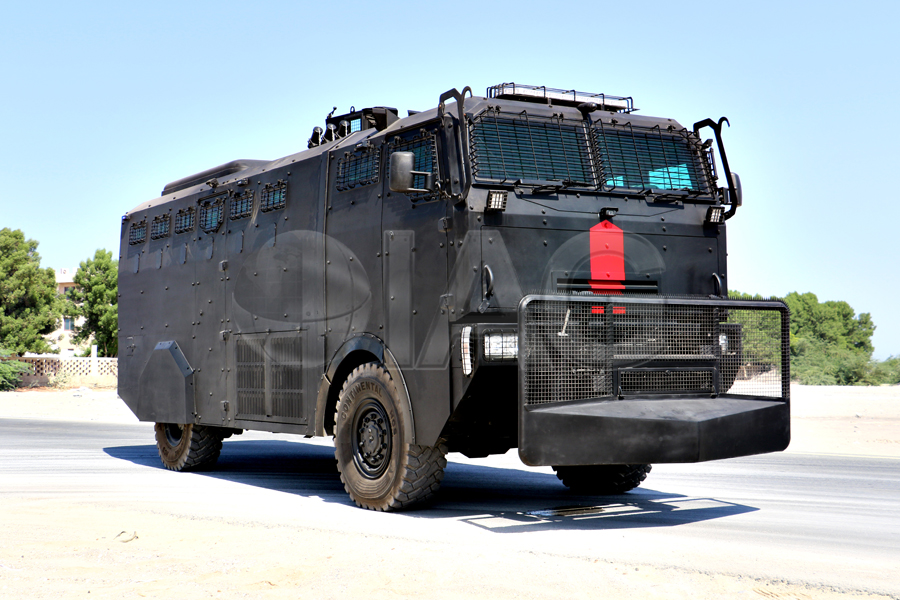 armored anti riot truck main