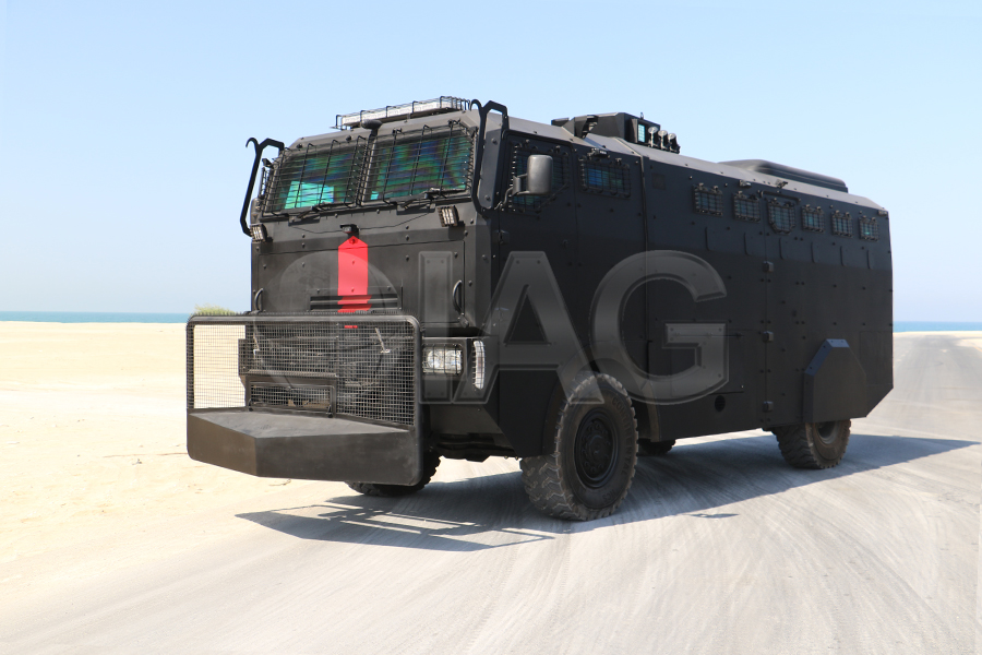 armored anti-riot truck riot control security