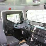 armored anti riot truck driver interior