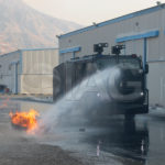armored water cannon pressure jets