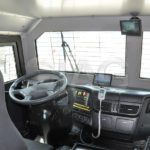 armored water cannon interior driver