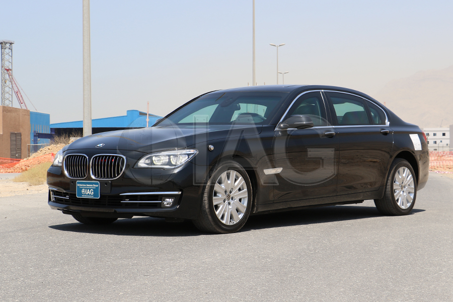 BMW 7 Series Armored High Performance Luxury vehicle