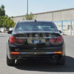 BMW 7 Series Armored Rear Camera and surveillance system