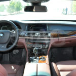 BMW 7 Series Armored Luxury Interior Navigation