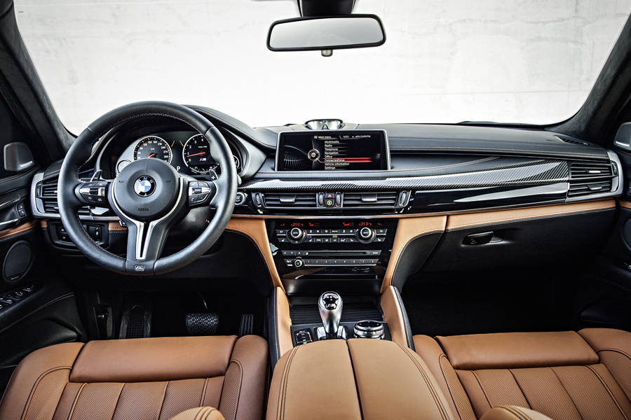 International Armored Group - BMW X5 interior