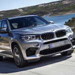 BMW X5 hillside