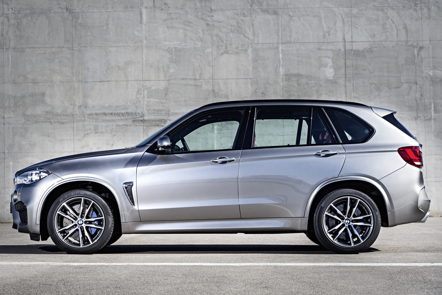 bmw x5 suv space grey profile