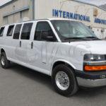 armored chevrolet express van