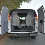 armored chevrolet express weight