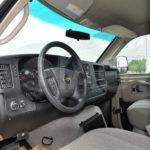 armored chevrolet express van driver cab
