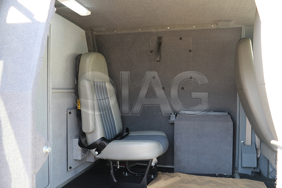 chevrolet express CIT guard seating