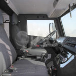 armored EOD driver cabin