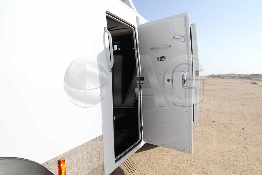 armored EOD rear door