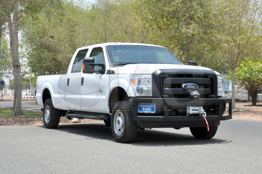 armored ford f350