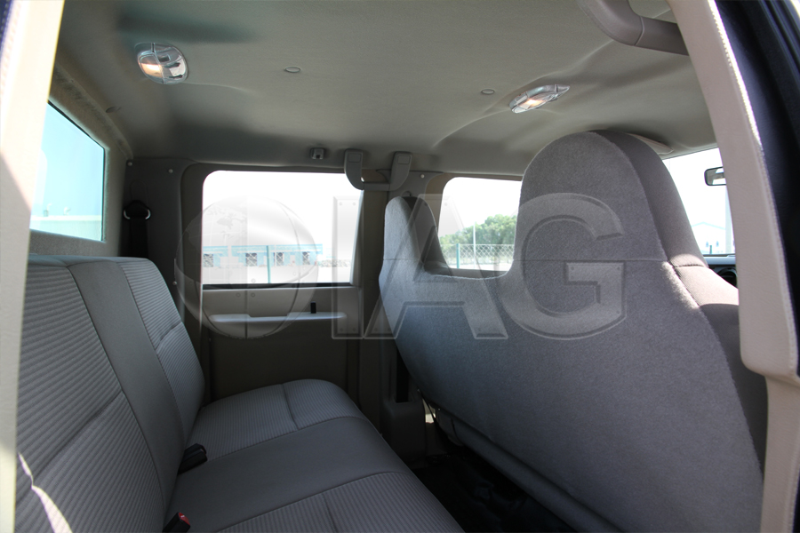 ford f350 passenger seating