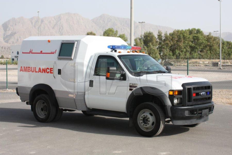 ford f350 ambulance large frame