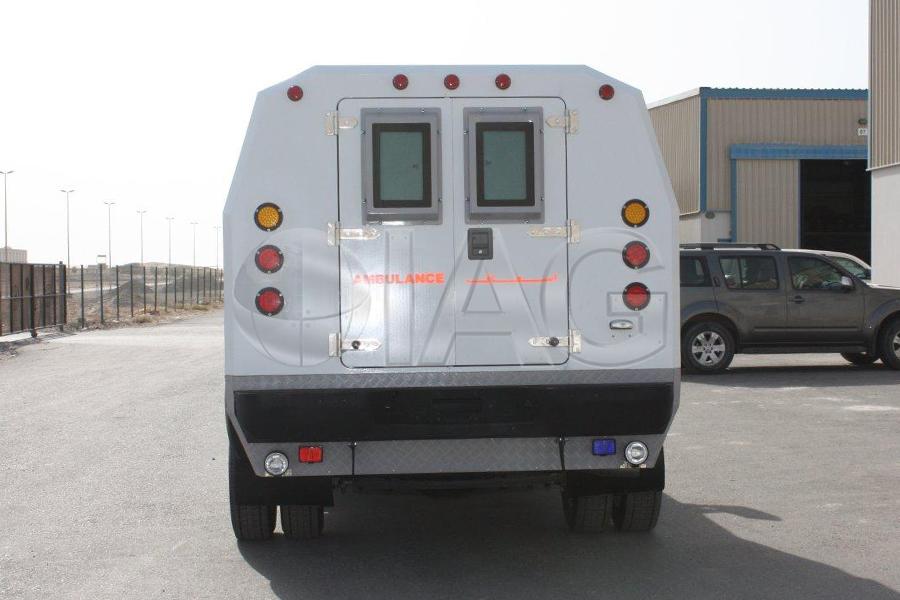 ford f350 ambulance payload