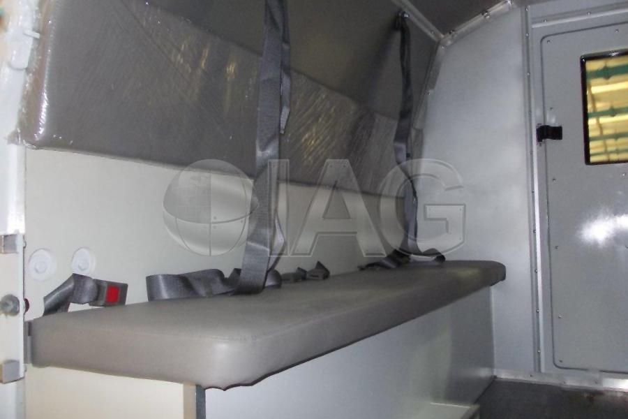 ford f350 ambulance attendant area