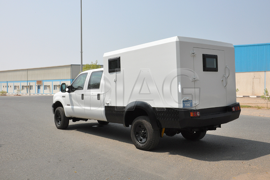 Ford F-350 CIT custom box