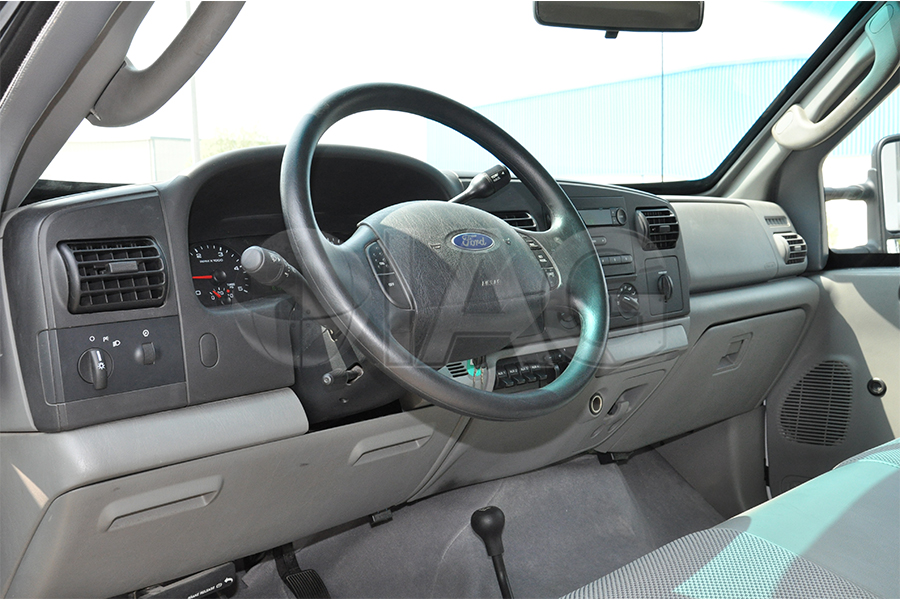 Ford F-350 CIT Dashboard