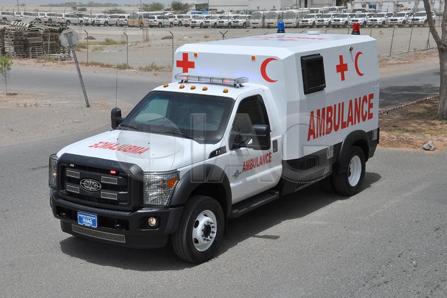 ford f550 ambulance ballistic armor