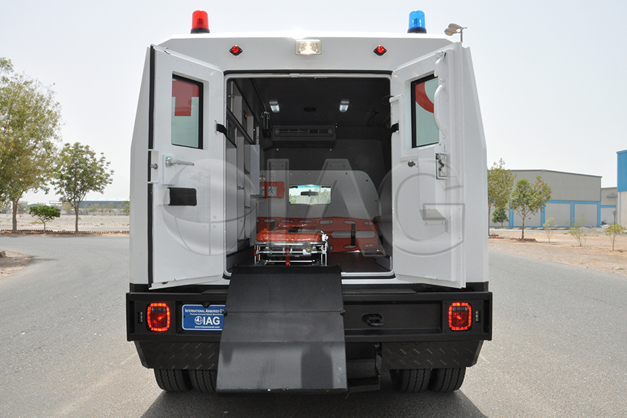 ford f550 ambulance rear ramp