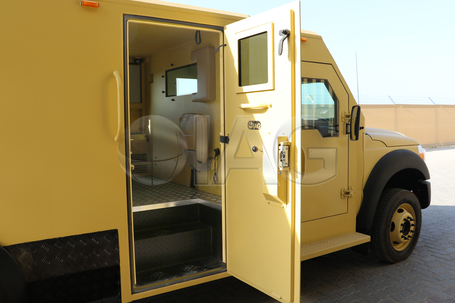 ford f550 CIT secured doors