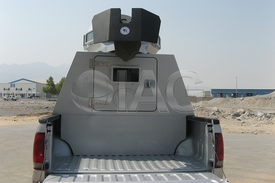 ford f350 patrol gunner box