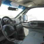 ford f350 patrol truck interior driver