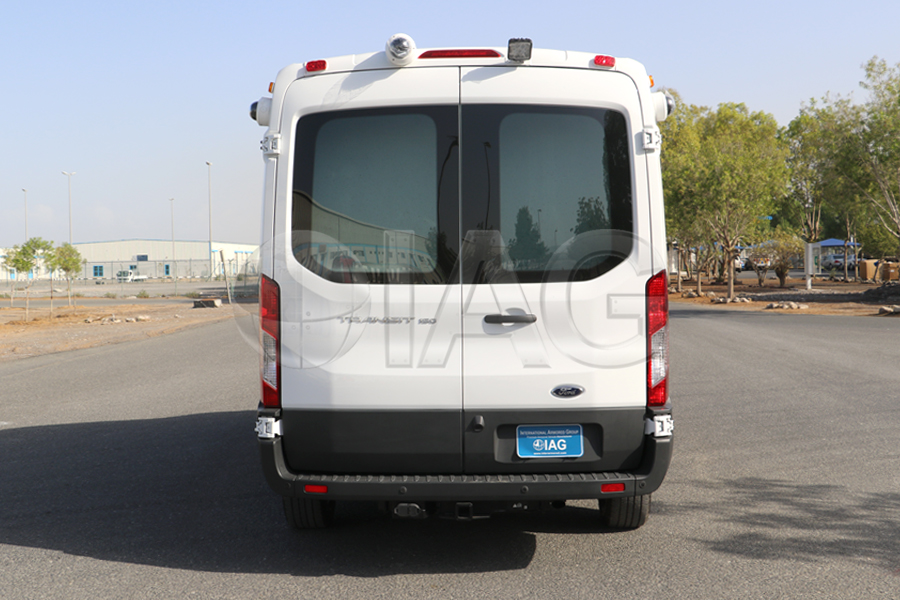 ford transit CIT dual armored doors