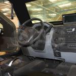 Guardian MAX LPV MRAP drive cabin interior